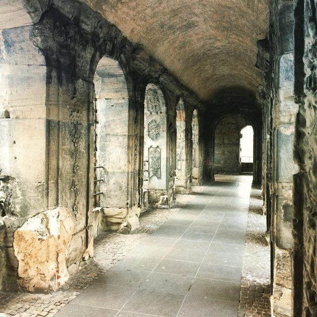 Inside the Porta Nigra in Trier trier triergermany germany germantourismhellip