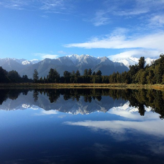 No idea why they call Lake Matheson Reflection Lake newzealandhellip