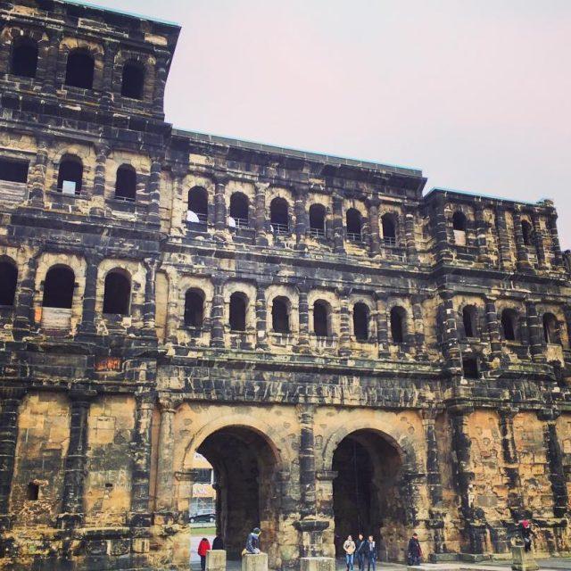 The Roman Porta Nigra in Trier trier triergermany triercity portanigrahellip