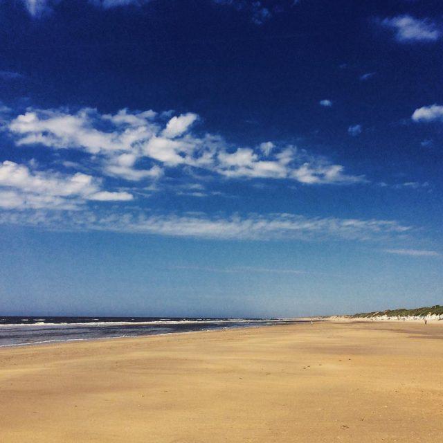 Het strand van Wijk aan Zee gistermiddag Supermooi weer enhellip