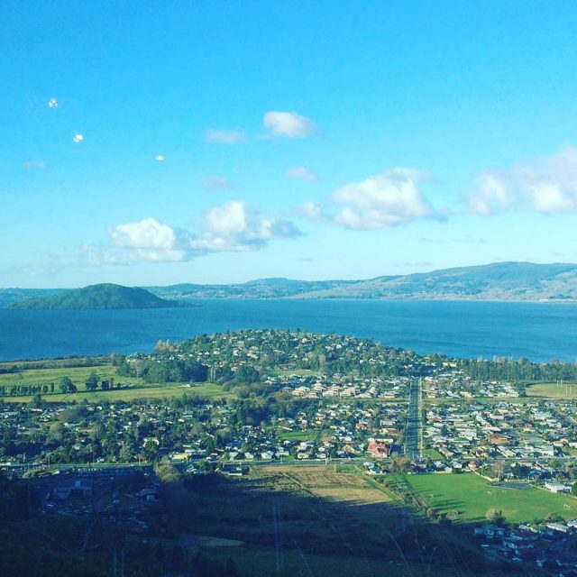 View on Lake Rotorua Rotorua lakerotorua newzealand northislandnz travelgram travelhellip