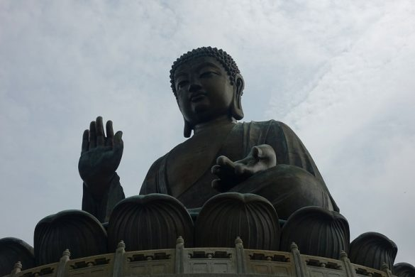 Big Buddha in Hong Kong, Lantau