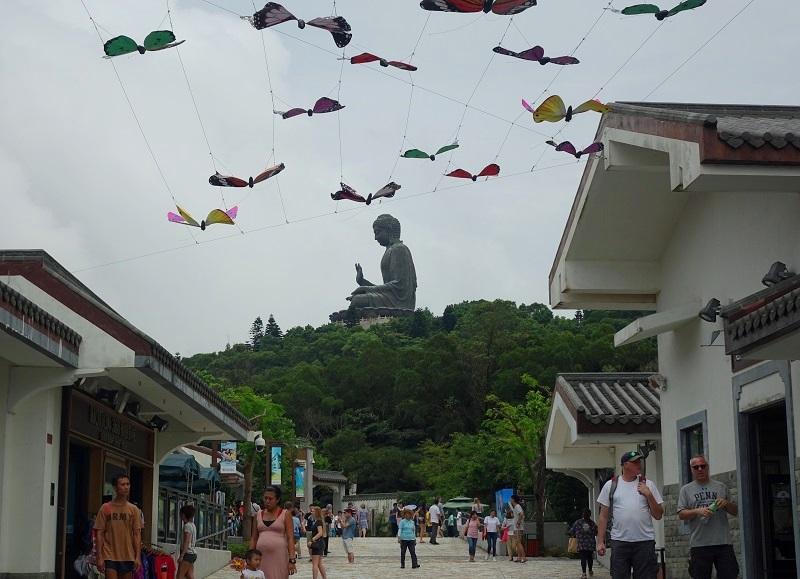 Ngong Ping Village in Hong Kong
