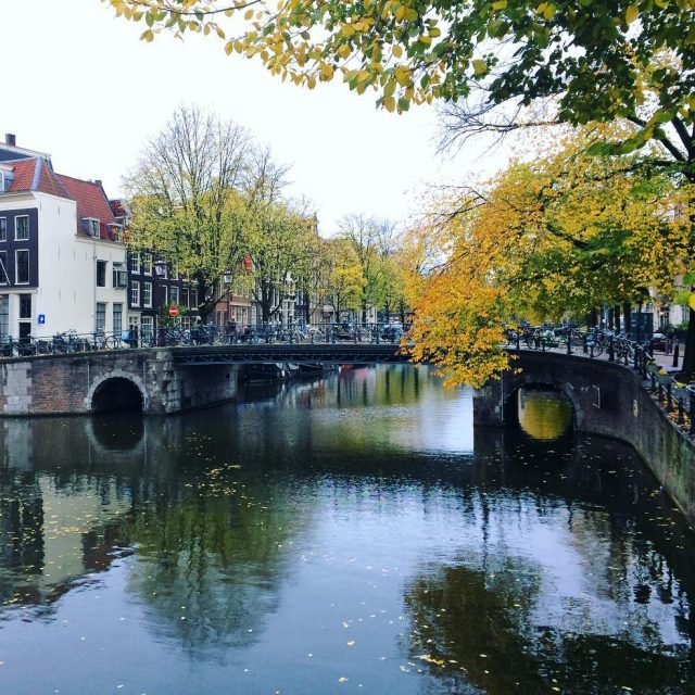 Corner BrouwersgrachtHerengracht in Amsterdam earlier this week Amsterdam amsterdamcanals canalsofamsterdamhellip