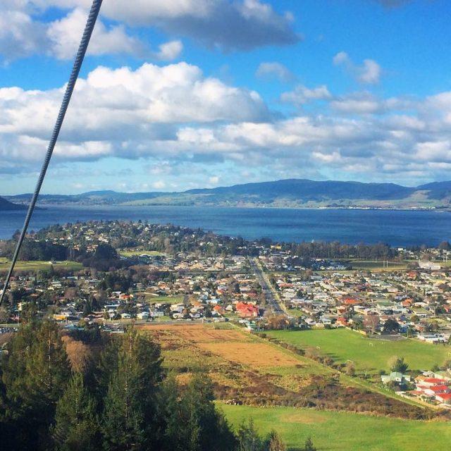 This is Lake Rotorua seen from the Skyline Gondola Newhellip