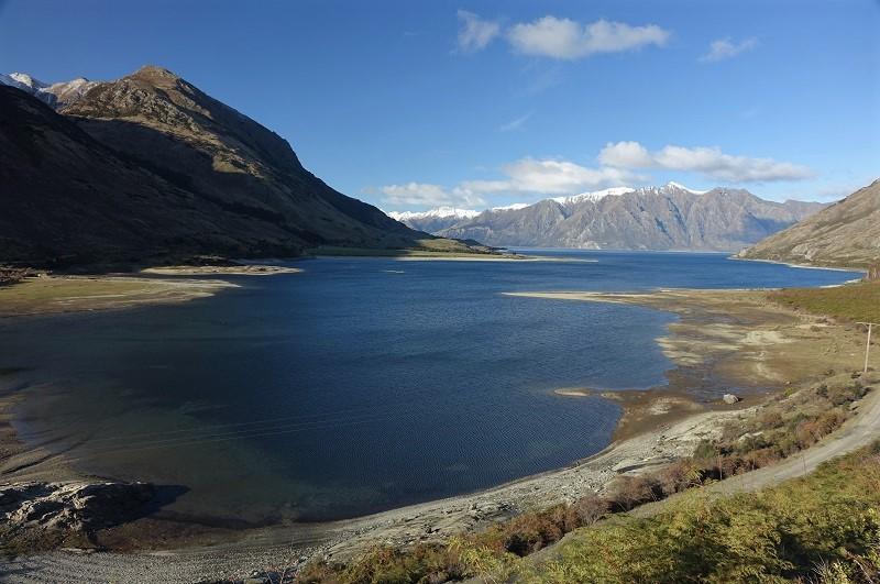 Lake Hawea, Nieuw-Zeeland