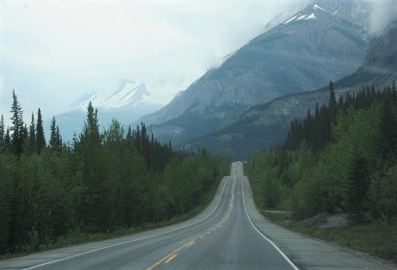 wegen in West-Canada