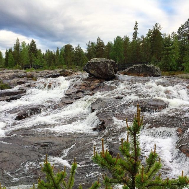 And another one of the beautiful Storforsen Nature Reserve inhellip