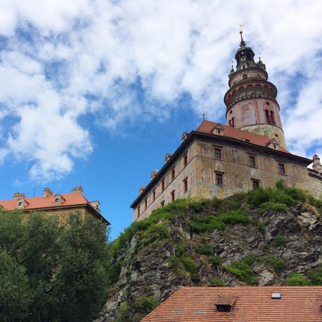 The pretty city of Cesky Krumlov is full of historyhellip
