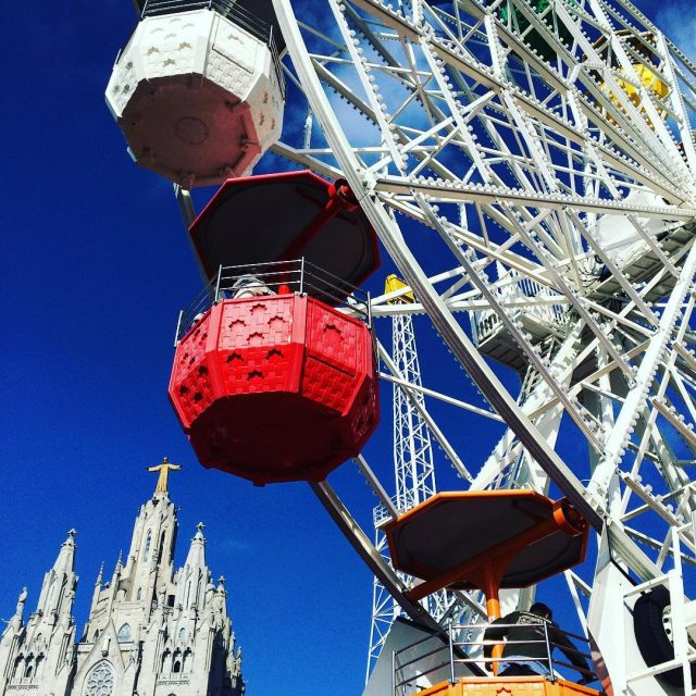 And another picture of Tibidabo in Barcelona   barcelonahellip