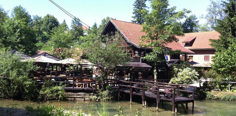 Restaurant Petro in Rastoke