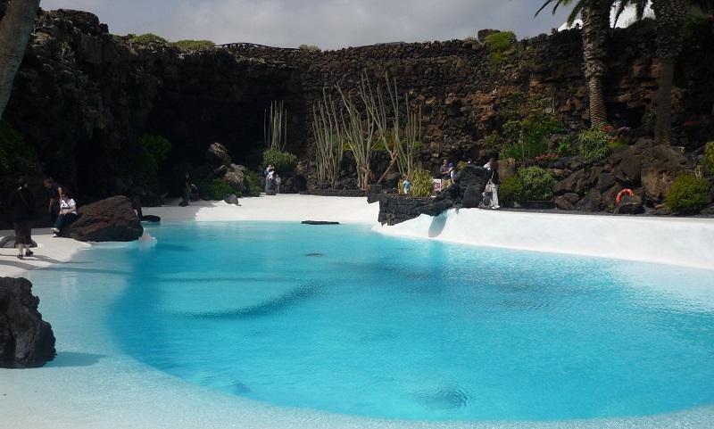 Jameos del Aqua, Manrique op Lanzarote
