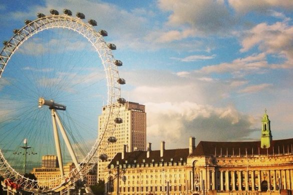 London Eye in Londen