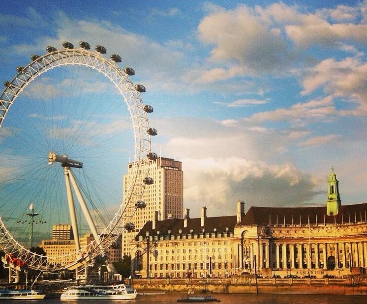 London Eye in Londen