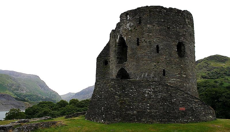 Dolbadarn Castle bij Llanberis, Wales