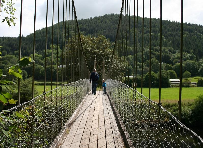 Sappers Bridge in Betws-y-Coed