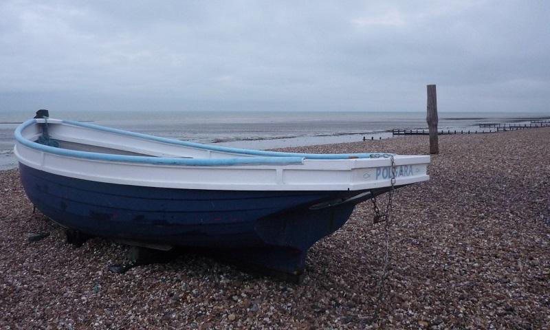 Zomer aan de Engelse kust