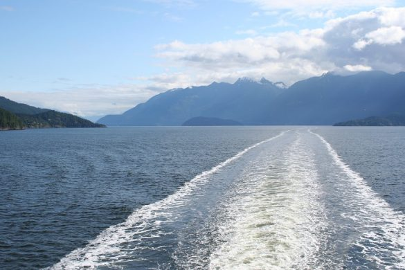 Met de ferry naar Tofino op Vancouver Island