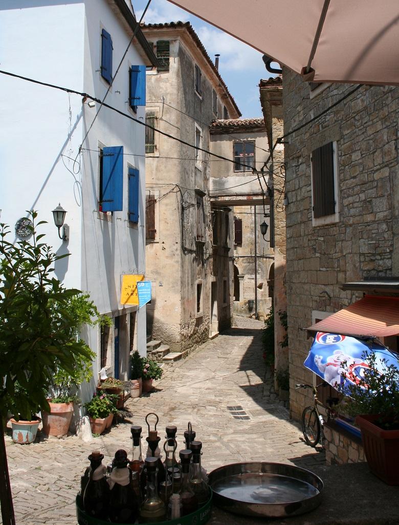 Terras in Groznjan, Istrië
