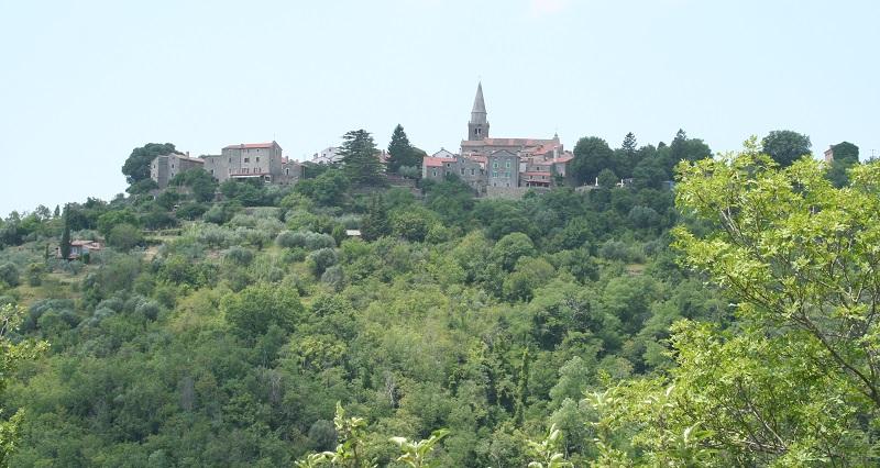 Grožnjan in Istrië