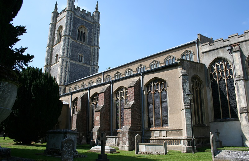 De Parish Church in Dedham