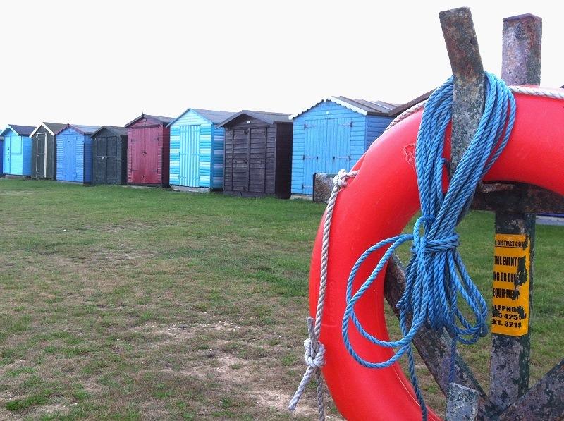 Strandhuisjes in Harwich