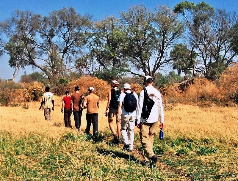 Wandelsafari in de Okavango Delta in Botswana