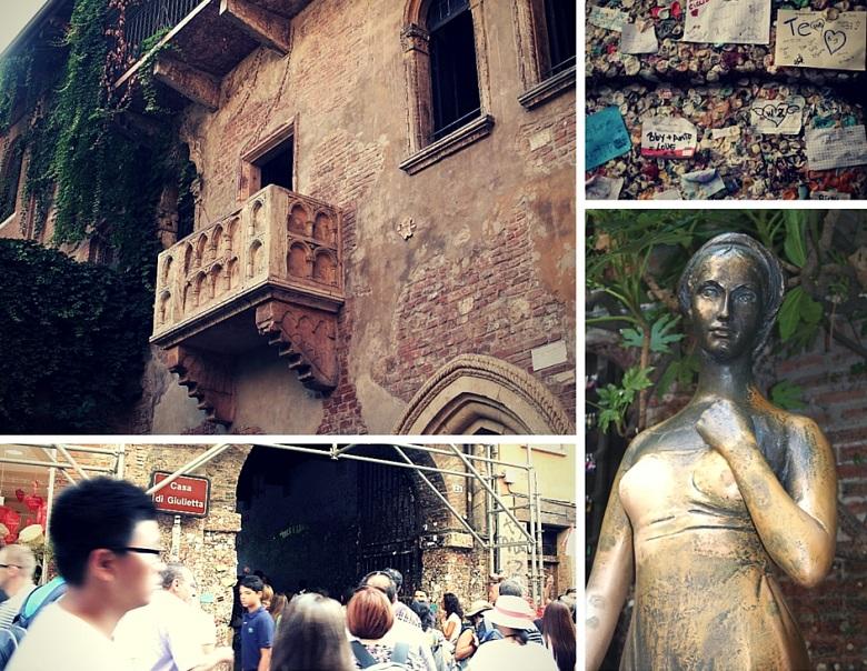 Casa di Giulieta in Verona