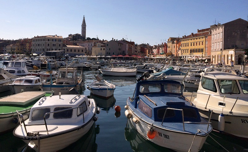 Haven van Rovinj
