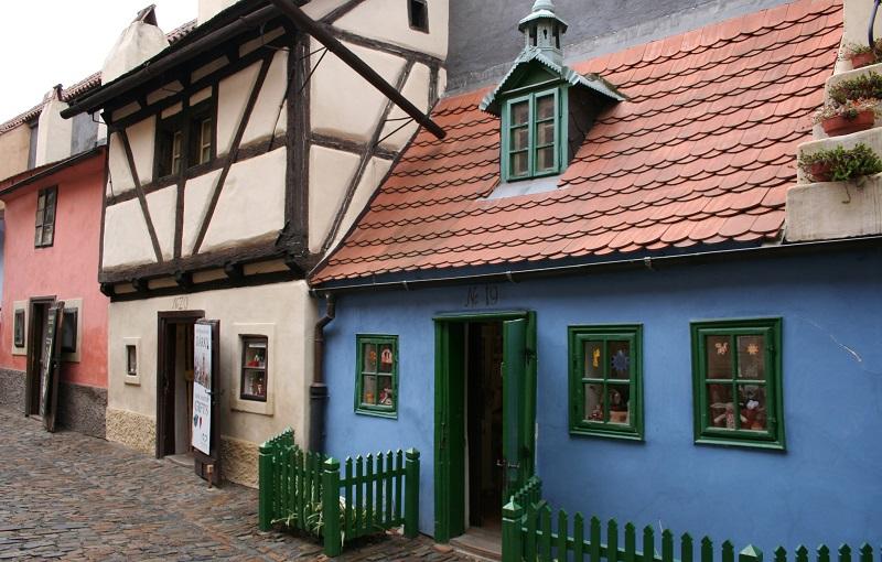 Stedentrip Praag Gouden Straatje