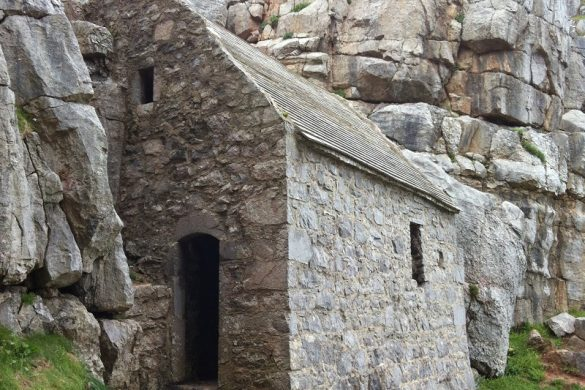 St. Govan's Chapel in Pembrokeshire