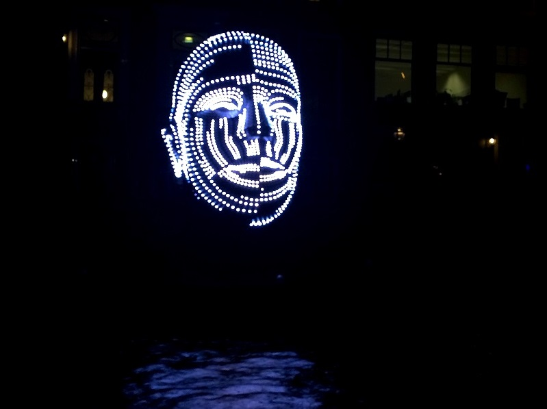 Talking Heads, Amsterdam Light Festival