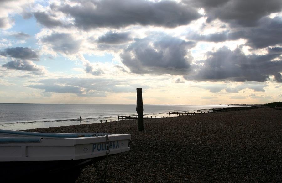 Strand in Zuid-Engeland