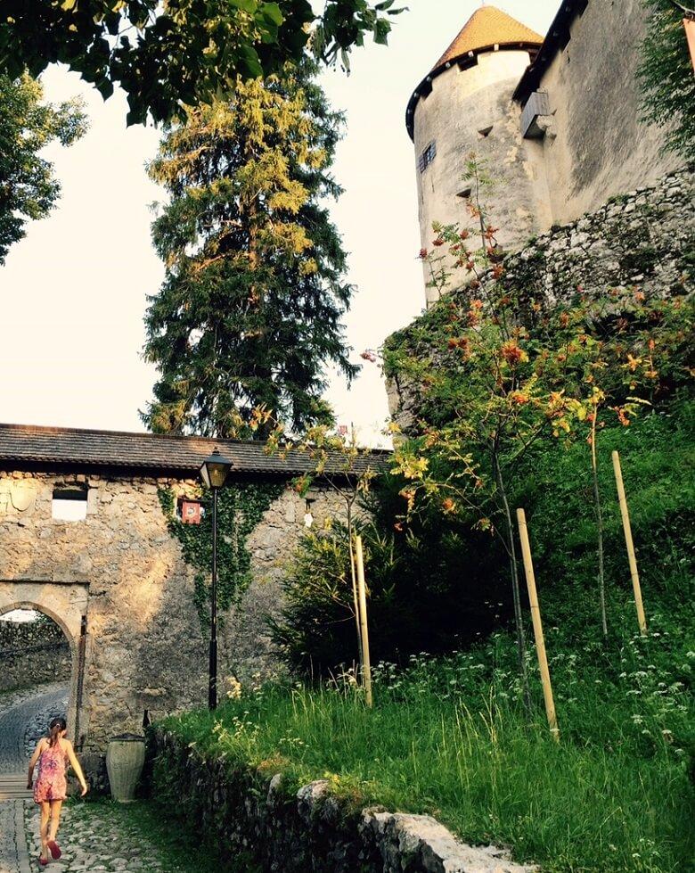 Het kasteel van Bled