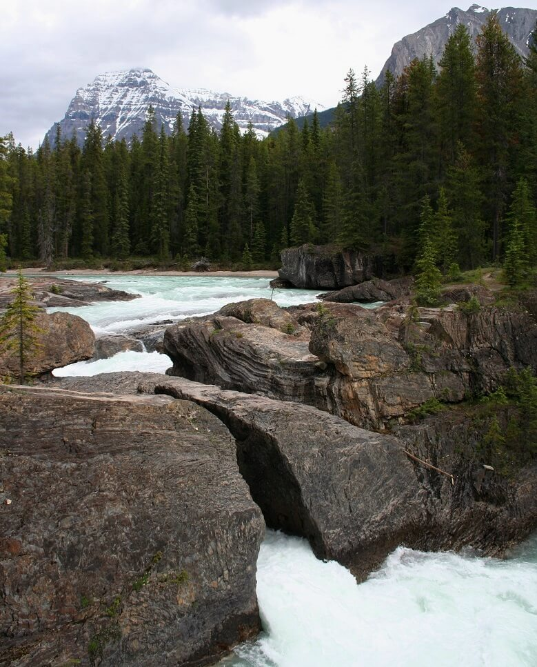 Natural Bridge in Yoho National Park