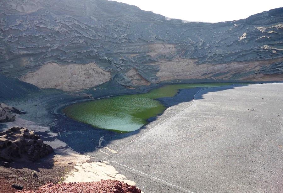 Lago Verde op Lanzarote