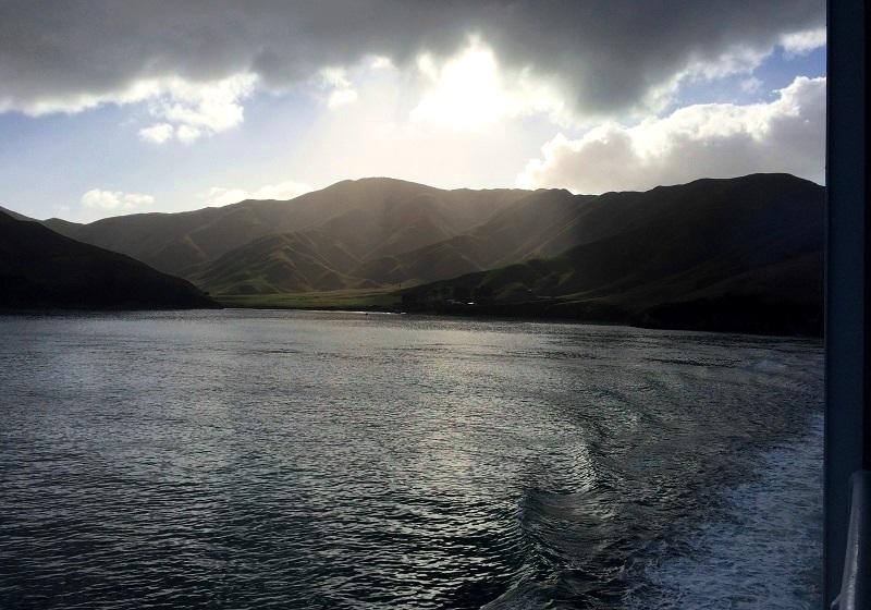 Overtocht Wellington Picton, Nieuw-Zeeland