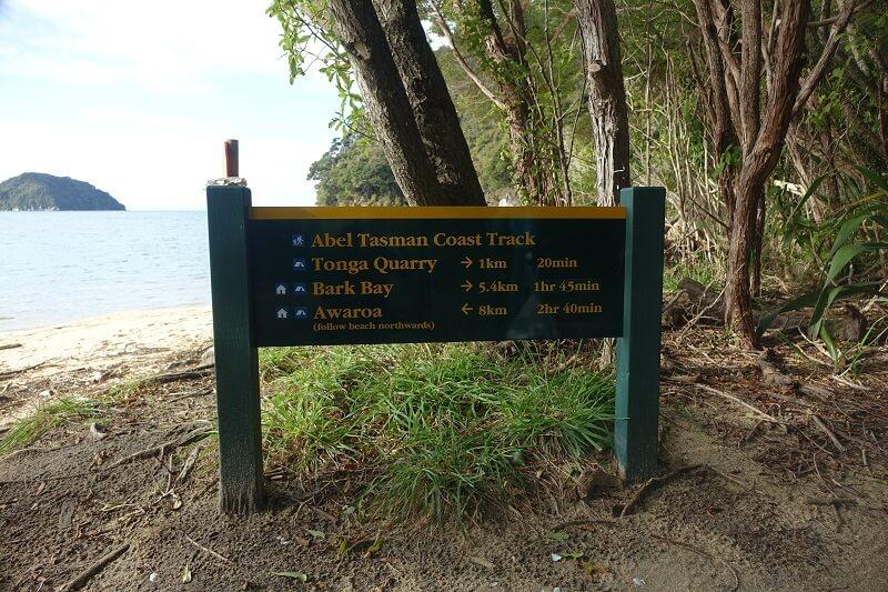 Coast track, Abel Tasman Park