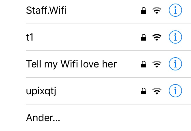 humor in Nieuw-Zeeland, WiFi