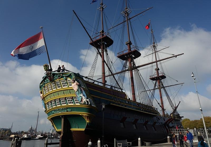scheepvaartmuseum met kinderen, VOC-schip De Amsterdam