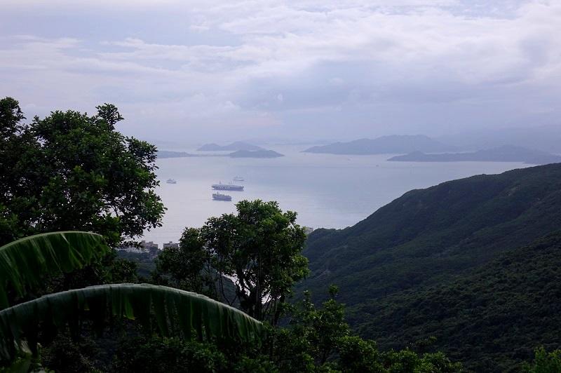 uitzicht van the peak in Hongkong