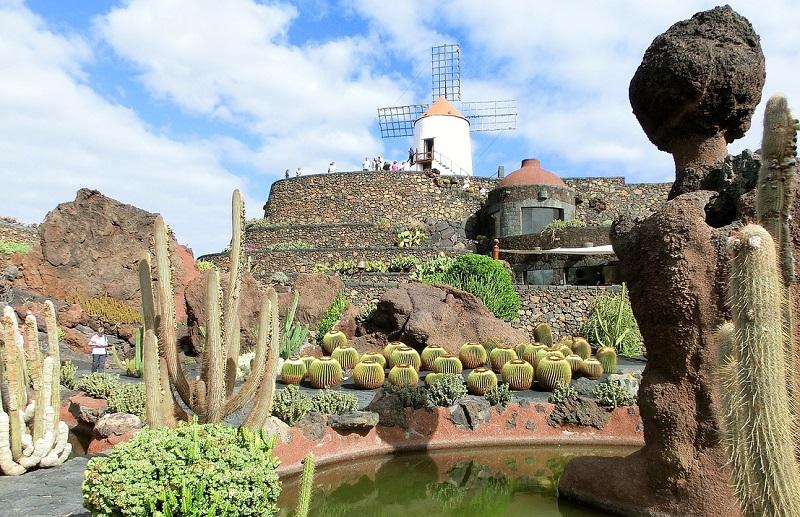 Manrique op Lanzarote, Jardin de Cactus