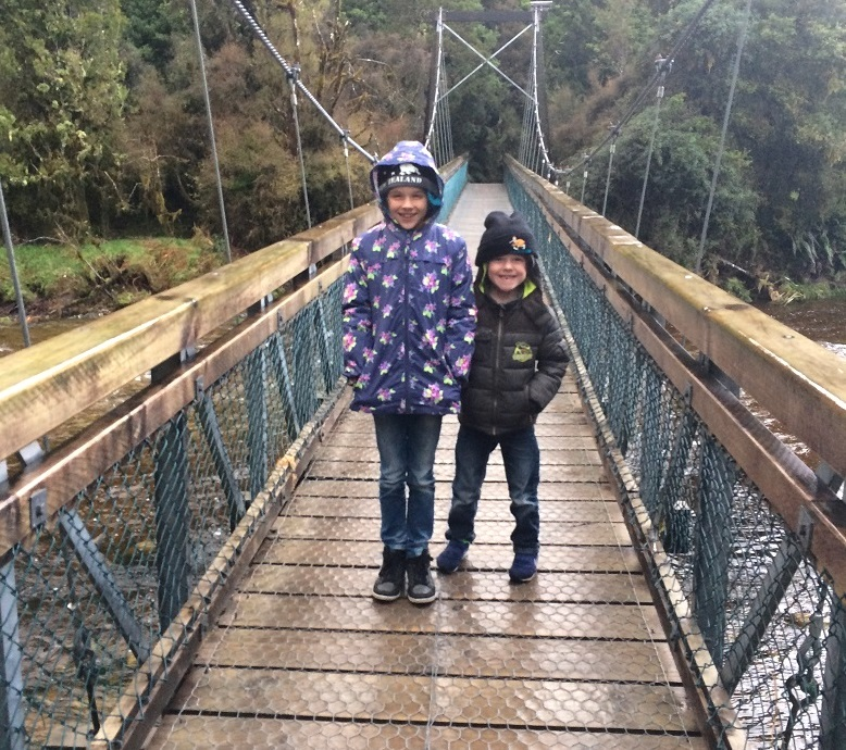 Lake Matheson hangbrug