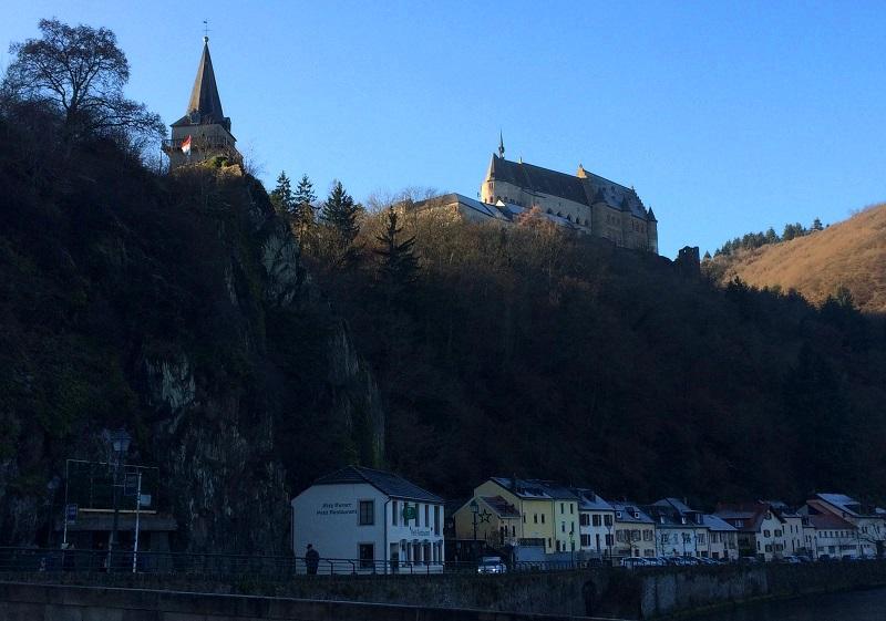 Kasteel Vianden in Luxemburg