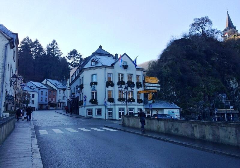 Vianden in Luxemburg