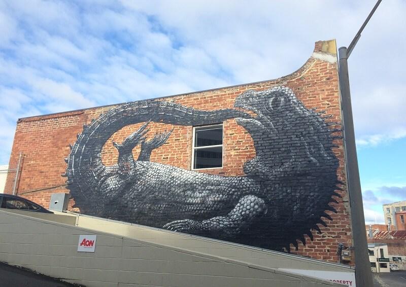 Street art in Dunedin