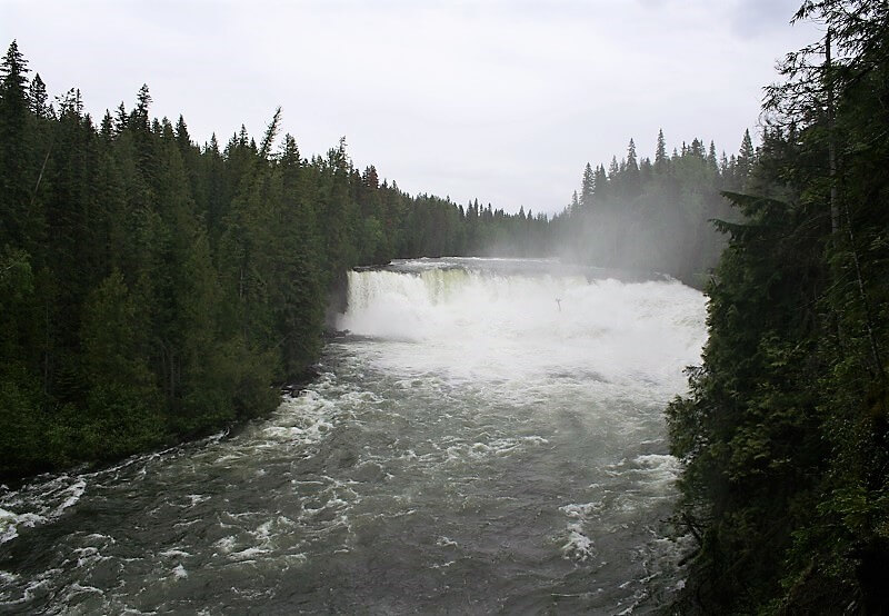 Dawson Falls, Wells Gray Provincial Park