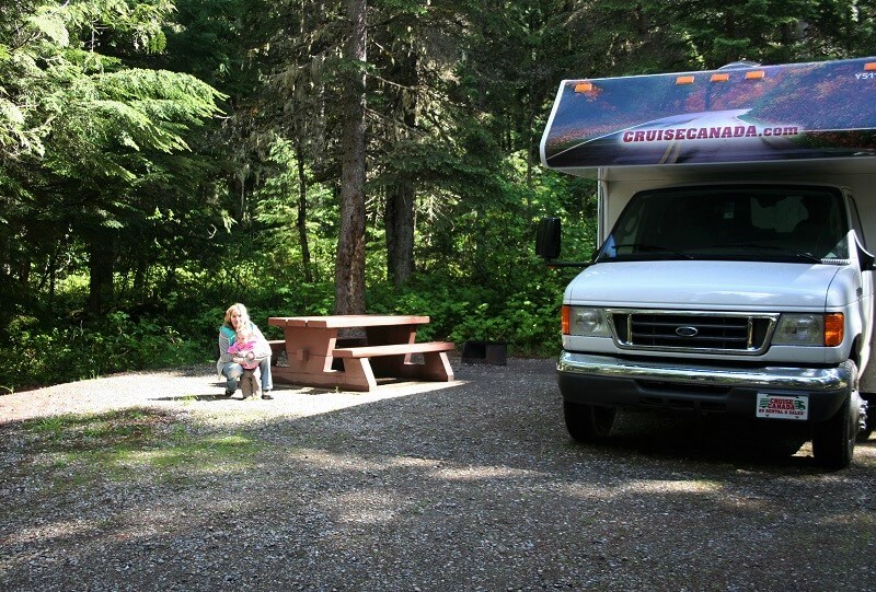 Wells Gray Provincial Park, campground