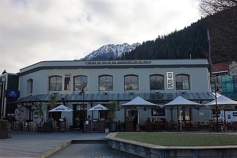 Steamer Wharf, Queenstown in Nieuw-Zeeland