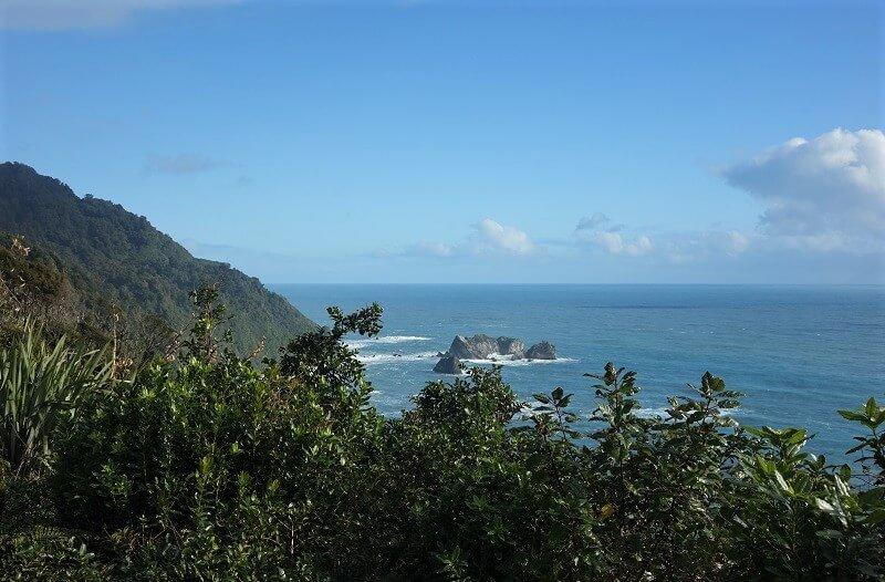 op weg naar Queenstown in Nieuw-Zeeland